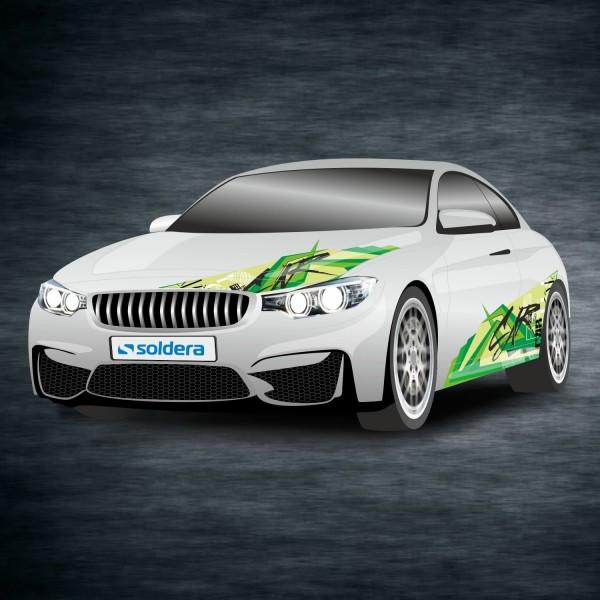 Tuningfolie - Car green