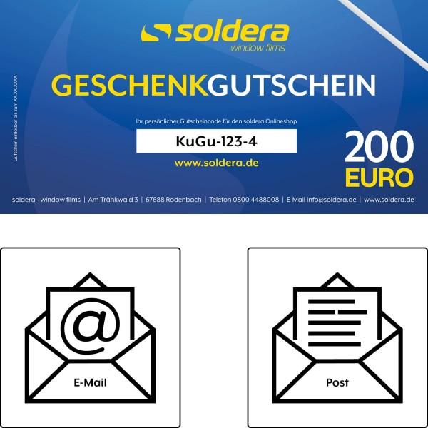 200 ¤ Geschenk-Gutschein