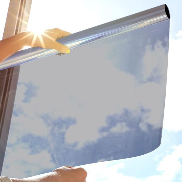 Sonnenschutzfolie SOL-20X silber dunkel