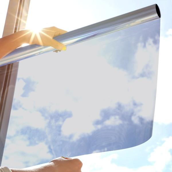 Sonnenschutzfolie SOL-35XP Premium - silber mittel
