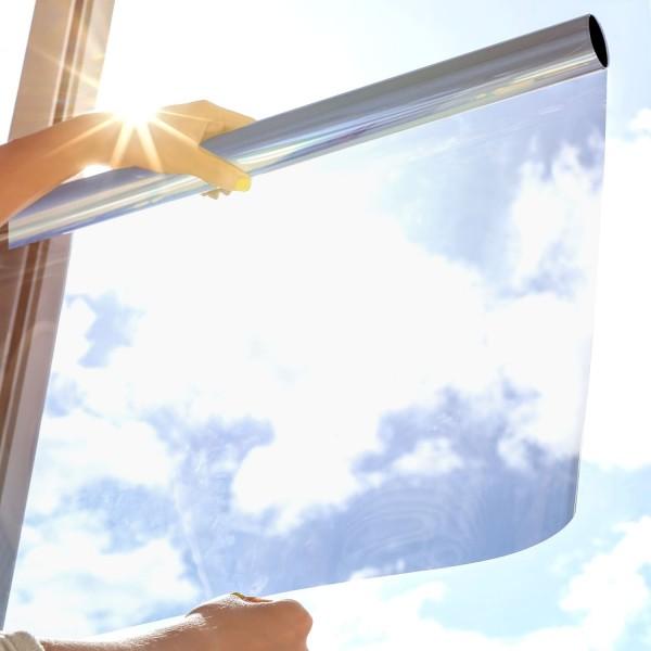 Sonnenschutzfolie SOL-50XP Premium - silber hell