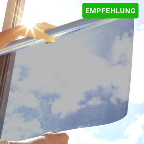 Sonnenschutzfolie SOL-20XC Classic - silber dunkel
