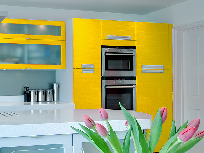 uni farbe seidenmatt folie ceylongelb ral 1023 soldera. Black Bedroom Furniture Sets. Home Design Ideas