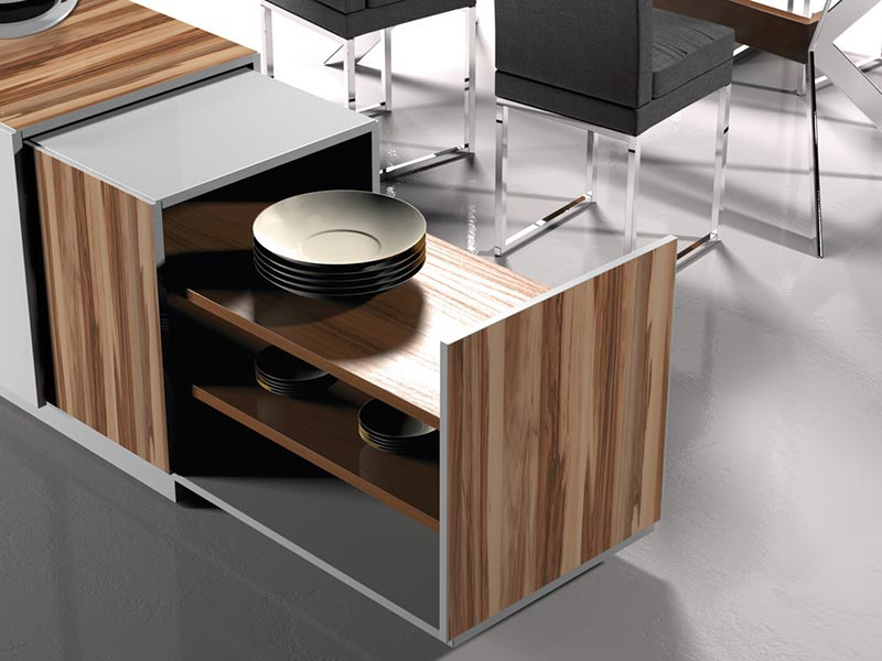Möbeldekorfolie mit Holz Optik