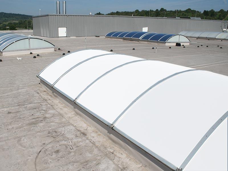 SOL-poly-weiss - Sonnenschutzfolie für Lichtbänder