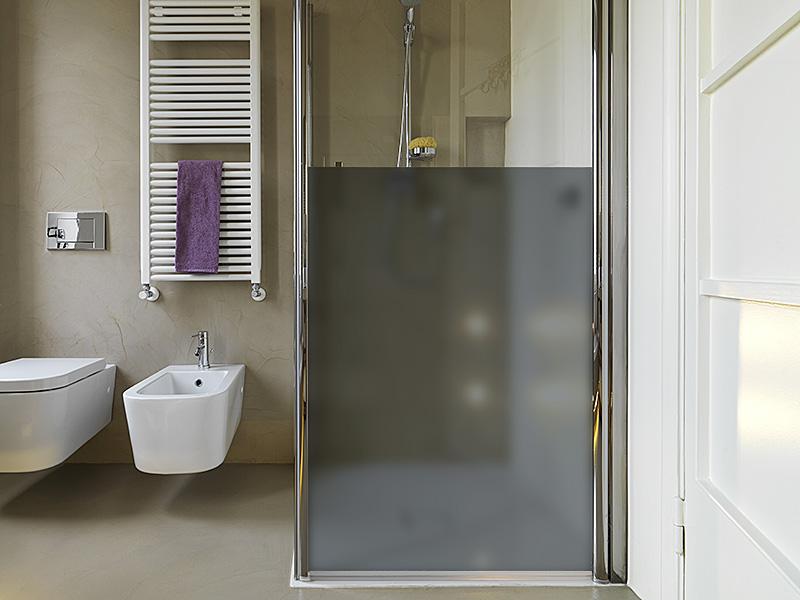Sichtschutzfolie - Grau matt
